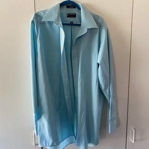Men's Stafford Button Up Long Sleeve Shirt